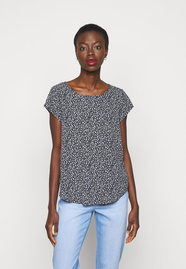 ONLY Tall ONLVIC - T-shirt z nadrukiem - black/czarny HWNJ