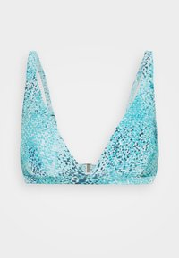 Seafolly - SERPENTINE LONGLINE - Bikini top - blue grass - 5