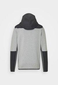 Nike Sportswear - HOODE MIX - Tröja med dragkedja - dark grey heather/iron grey/black - 6