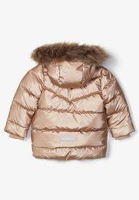 Name it - Winter jacket - gold colour - 1