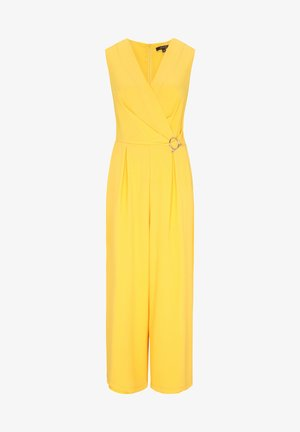 OVERALL AUS CRÊPE - Jumpsuit - yellow