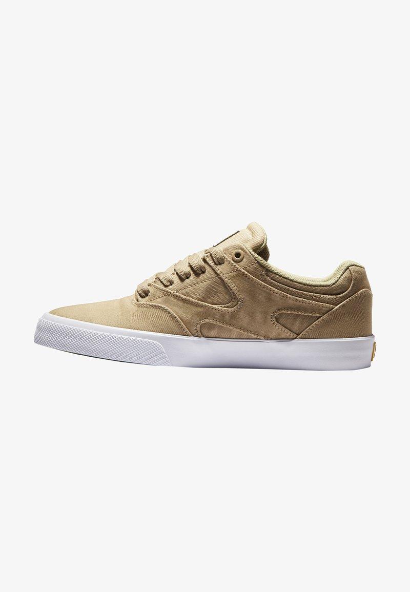 DC Shoes - KALIS VULC UNISEX - Trainers - tan