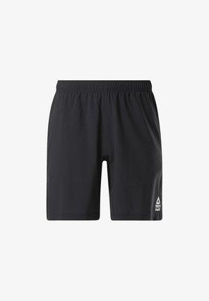 Reebok Austin II Solid Shorts - Krótkie spodenki sportowe - Black