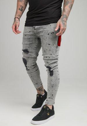 DISTRESSED RIOT FLIGHT - Jeans Skinny Fit - snow wash