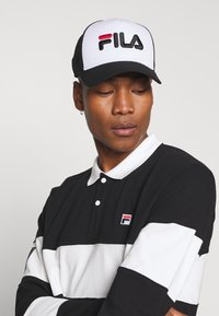Fila - TRUCKER SNAP BACK - Casquette - black/bright white - 1
