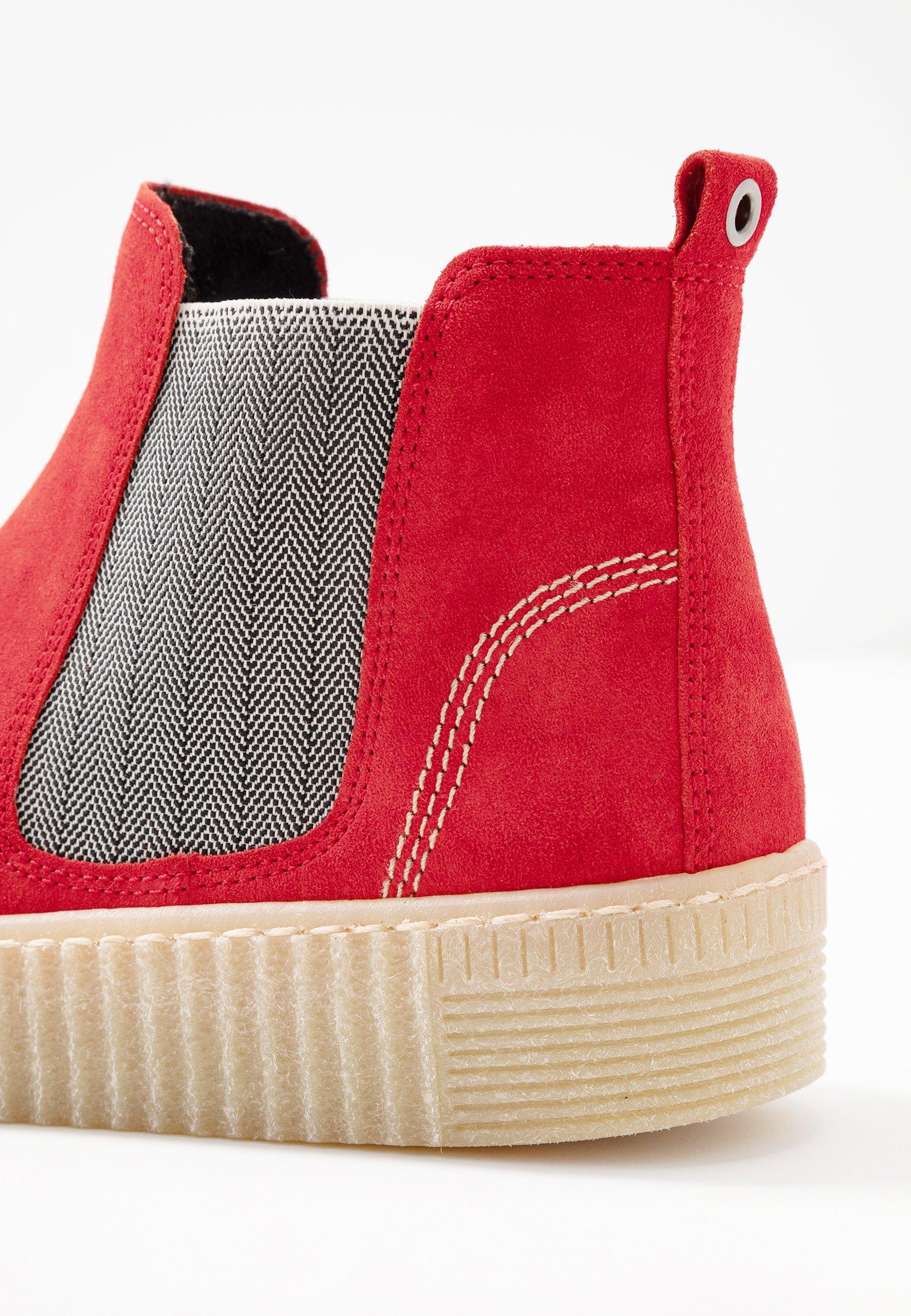 Gabor Ankle Boot rot/beige/natur/orange