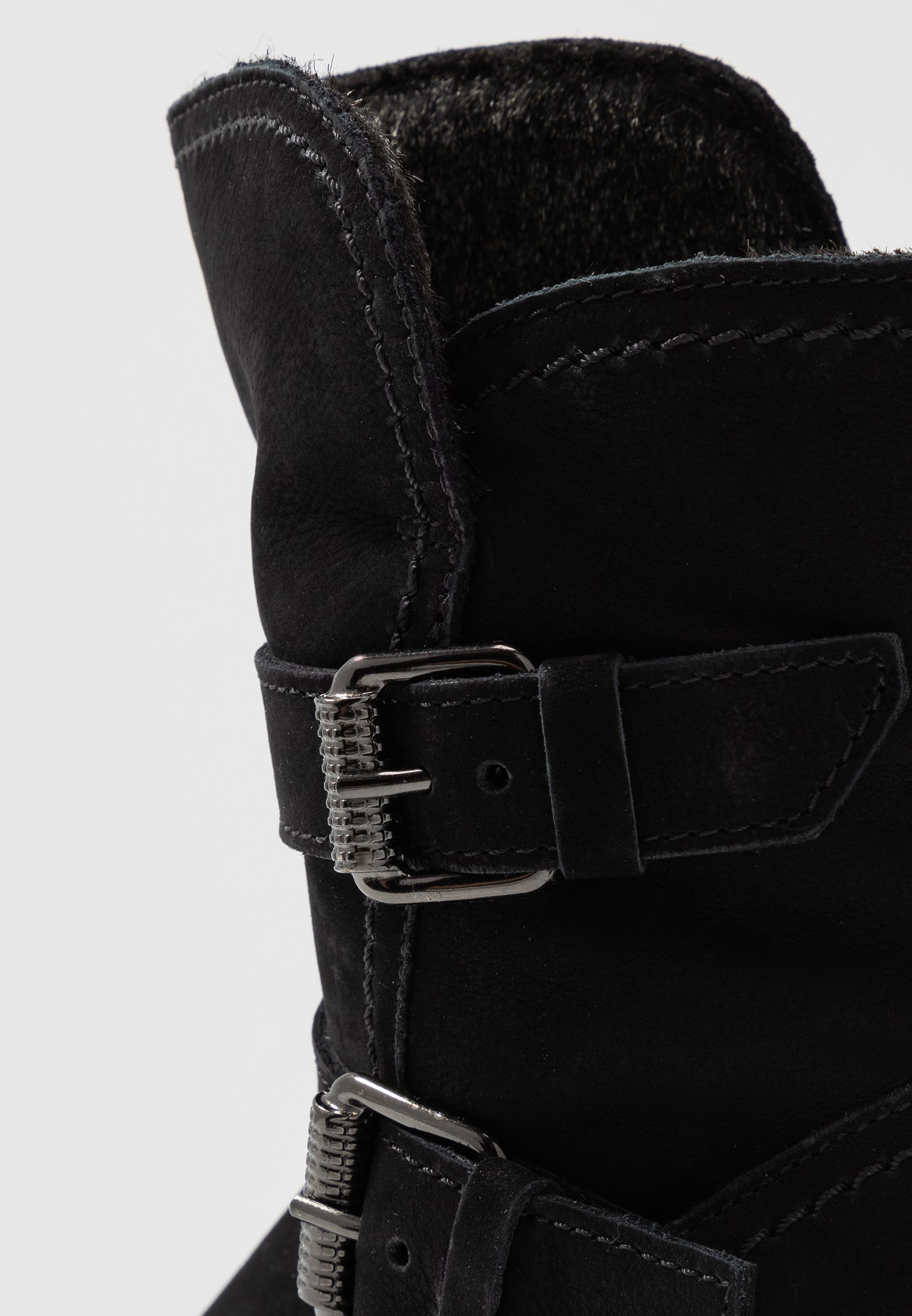 Gabor Comfort Wide Fit - Platåstøvletter Schwarz/svart