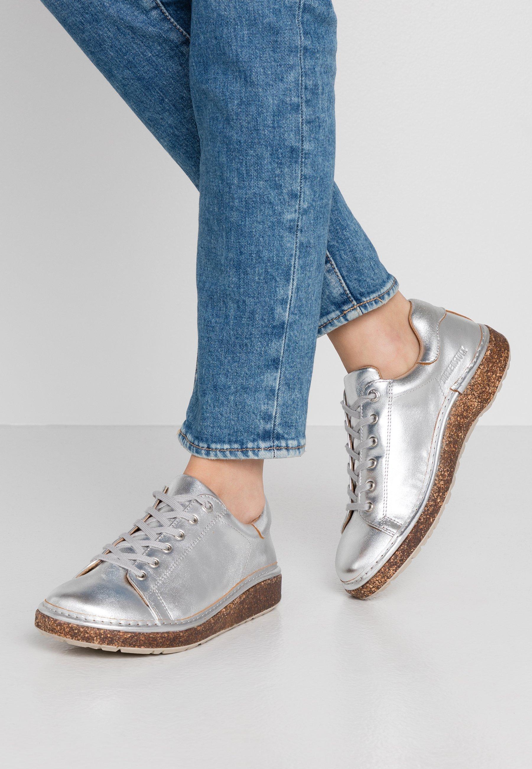 Gutes Angebot Birkenstock SAN - Sneaker low - silver | Damenbekleidung 2020