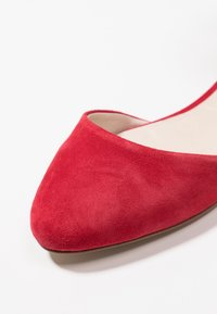 mint&berry - Ankle strap ballet pumps - red - 2