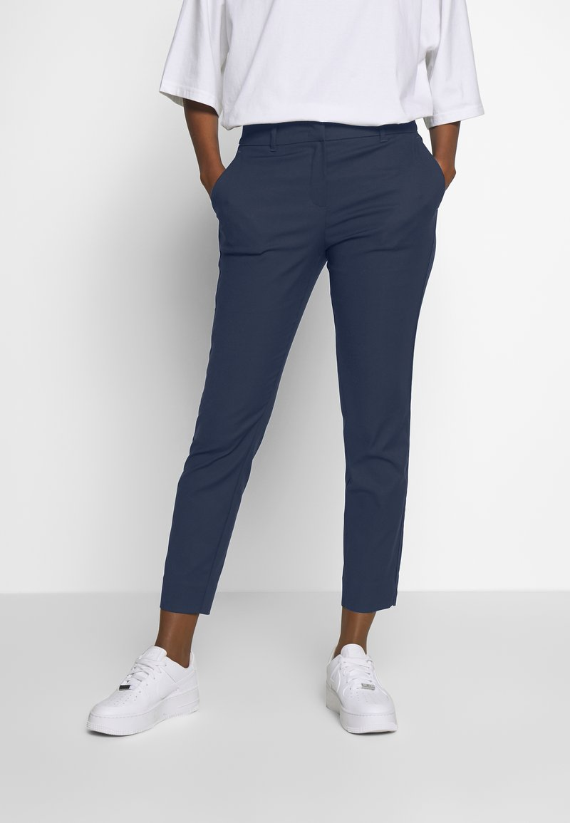mine to five TOM TAILOR - SIGNATURE PANTS - Pantalon classique - sky captain blue