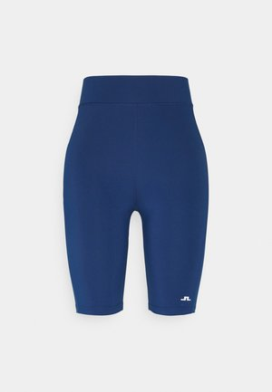 NEMI GOLF SHORT TIGHTS - Leggings - midnight blue