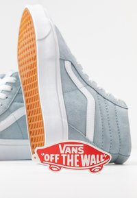 Vans - Sneakers high - blue fog/true white - 7