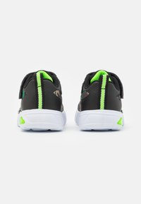 Skechers - FLEX GLOW - Trainers - black/lime - 2