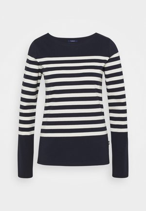 CLASSIC ENGINERED LONG SLEEVE - Long sleeved top - dark blue