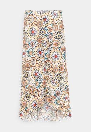 BORA BORA - A-line skirt - white