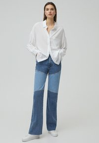 PULL&BEAR - Button-down blouse - white - 1