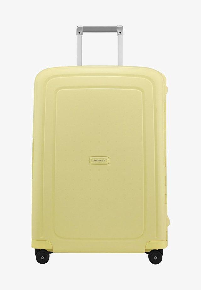 MIT  ROLLEN - Trillekoffert - pastel yellow