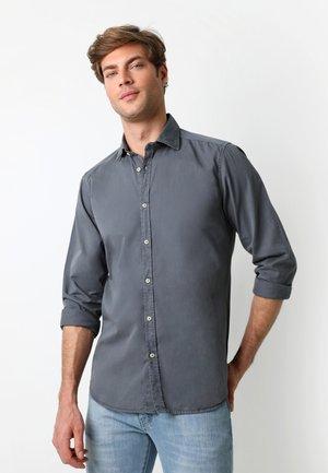 PLAIN - Shirt - greyish blue