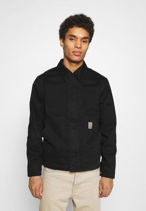 ARCAN JACKET NAPERVILLE - Denim jacket - black rinsed
