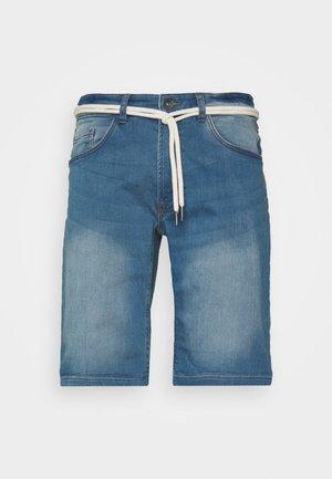 SYDNEY TERRY  - Denim shorts - skyway blue