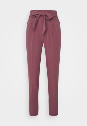 ONLFRESH PAPERBAG PANT  - Trousers - wild ginger