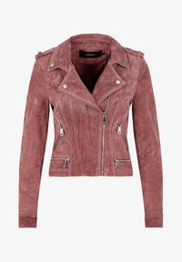 Leather jacket - rose