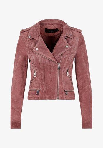 Leather jacket - rose