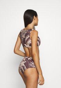Rhythm - MAHINA CROP - Bikini top - cocoa - 2