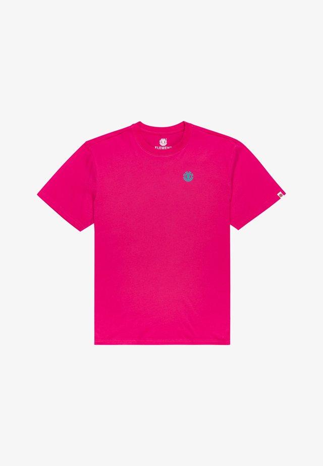 FOXWOOD - T-shirt imprimé - fushia red