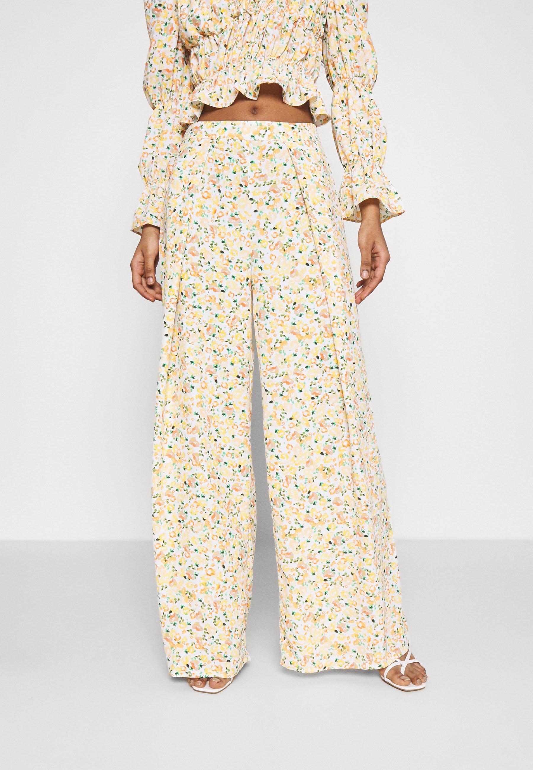 Femme WIDE LEG TROUSERS - Pantalon classique