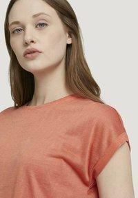 TOM TAILOR DENIM - T-shirt basic - sundown coral - 3