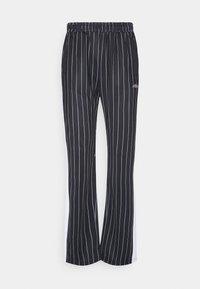 Fila - JAIMI PINSTRIPE TRACK PANTS - Trainingsbroek - black/bright white - 3