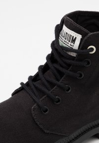 Palladium - PAMPA ORGANIC UNISEX  - Lace-up ankle boots - black - 5