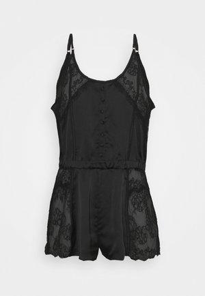 THE DECADENCE TEDDY - Pyjama - black