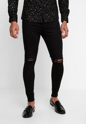 LUMOR - Jeansy Skinny Fit - black