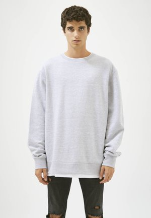 Sweatshirt - mottled grey