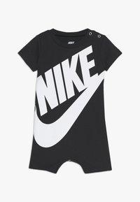 Nike Sportswear - FUTURA ROMPER BABY - Kombinezon - black - 0