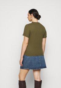 Vero Moda Curve - VMBREA - Print T-shirt - fir green - 0