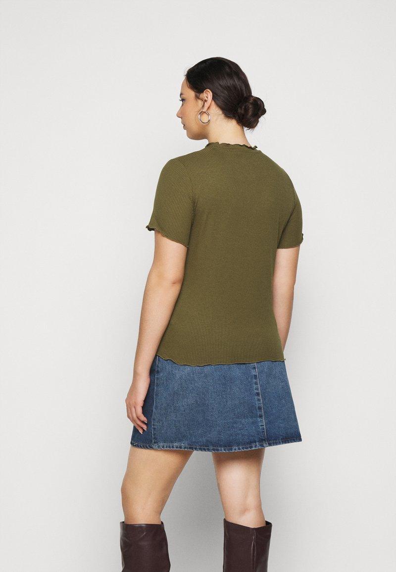 Vero Moda Curve - VMBREA - Print T-shirt - fir green