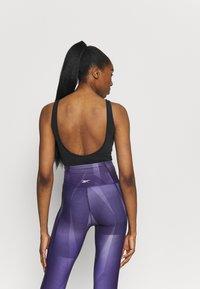 Reebok - BODYSUIT - trikot na gymnastiku - black - 2