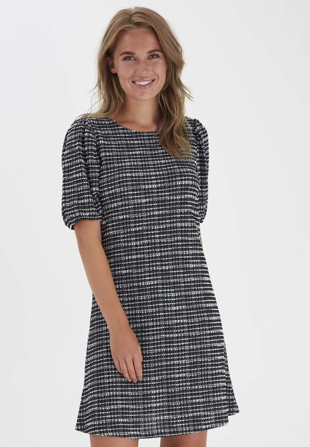BYSILLE - Robe pull - black mix