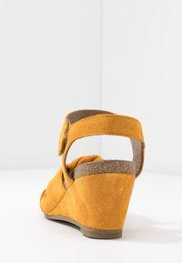 Ca'Shott - Sandály na klínu - sun - 5