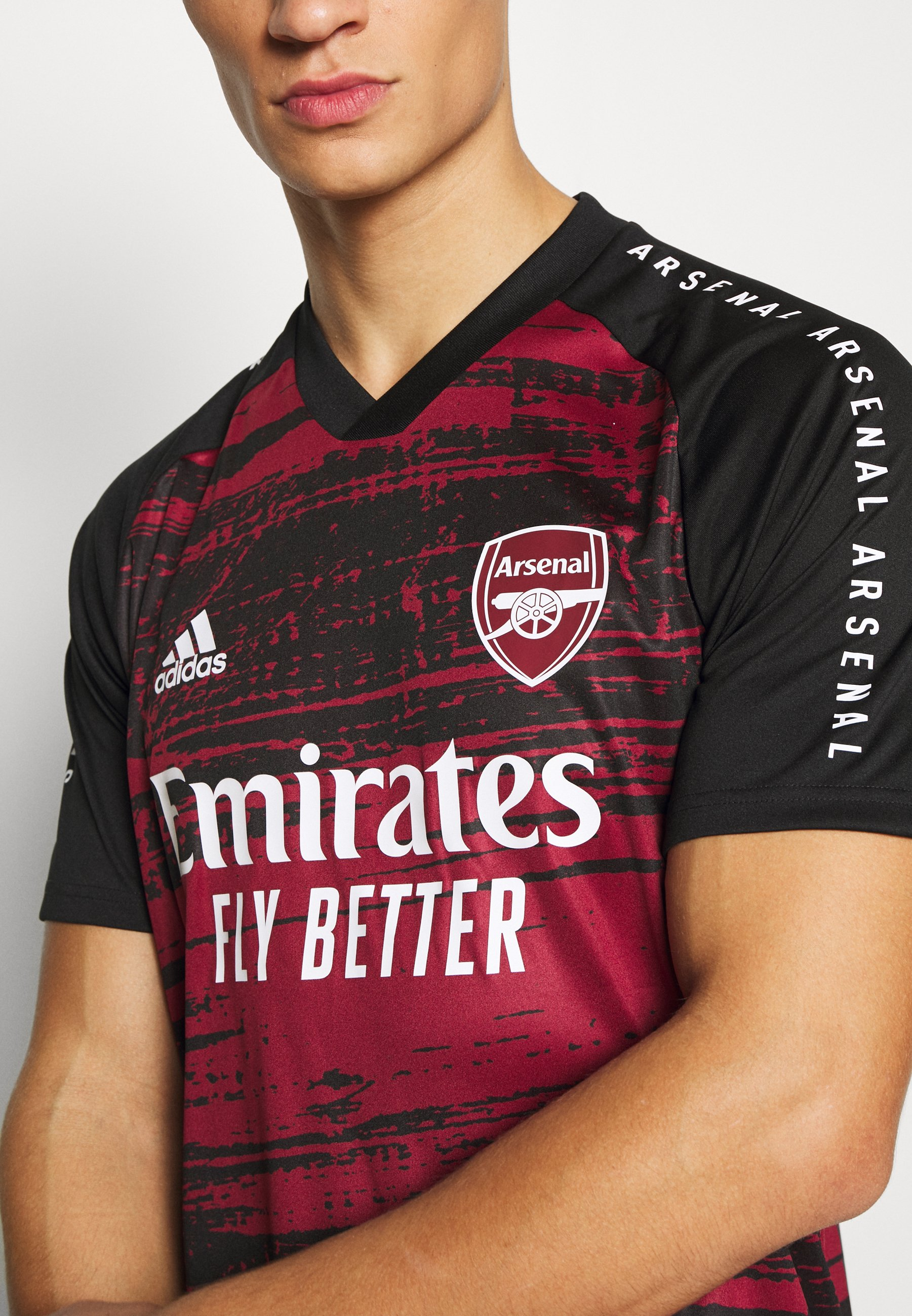 ARSENAL FC AEROREADY SPORTS FOOTBALL Vereinsmannschaften noble maroonblack