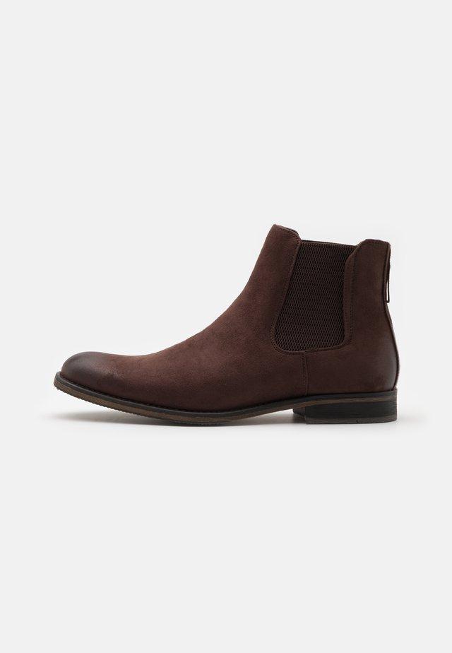 VEGAN NEAL - Korte laarzen - brown