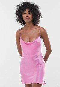 Bershka - Cocktail dress / Party dress - pink - 0