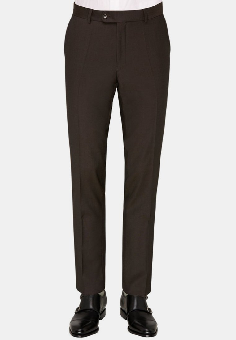 Carl Gross - Suit trousers - brown
