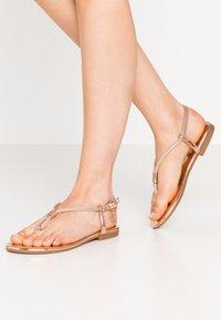 Laura Biagiotti - T-bar sandals - mirror skin - 0