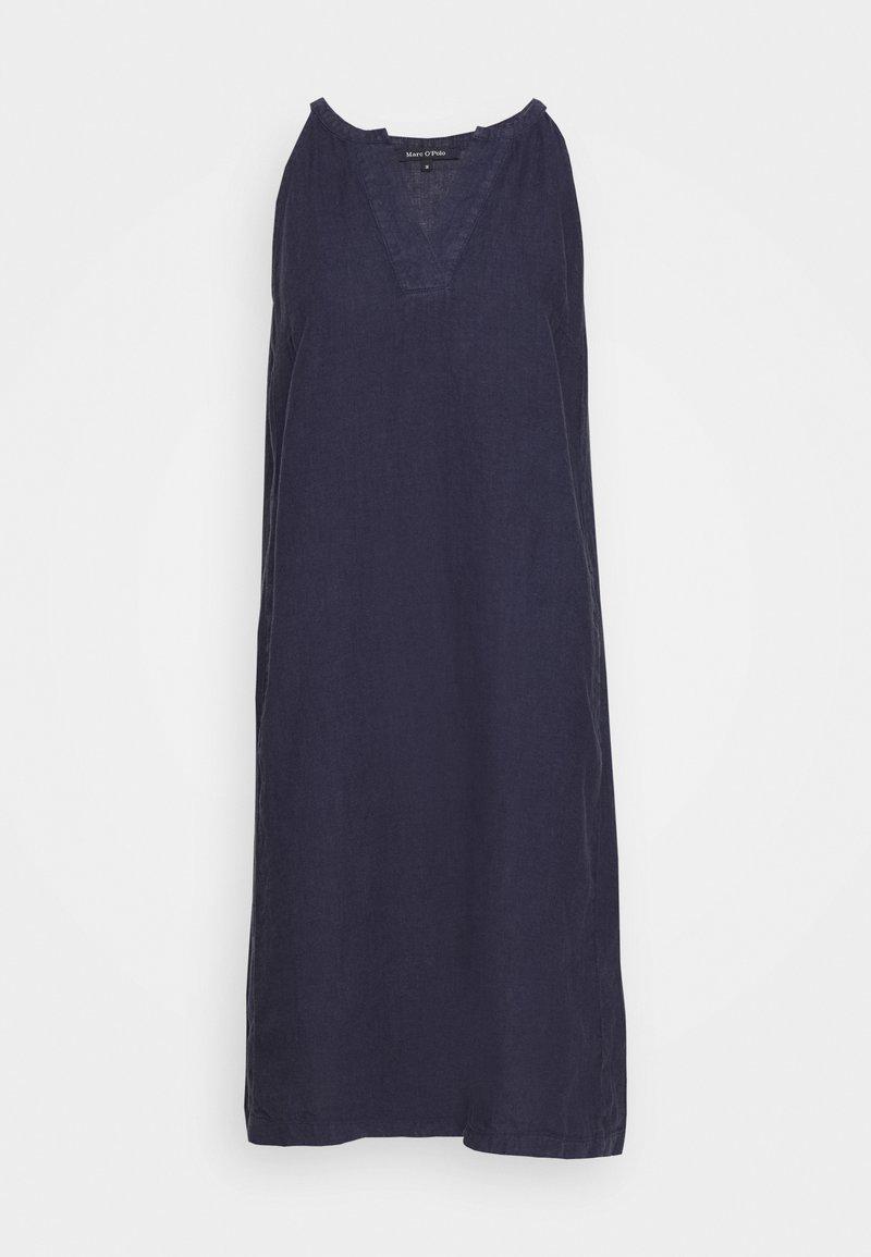 Marc O'Polo - DRESS EASY STRAP STYLE DETAILED NECKLINE SUMMER LINE - Vapaa-ajan mekko - silent sea