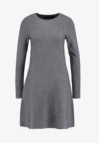 Vero Moda - VMNANCY DRESS - Jumper dress - medium grey melange - 4