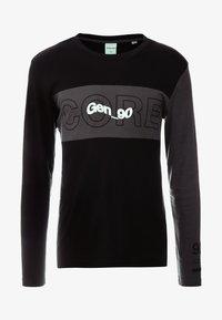 Jack & Jones - JCOBAMBOE TEE - Långärmad tröja - black - 3